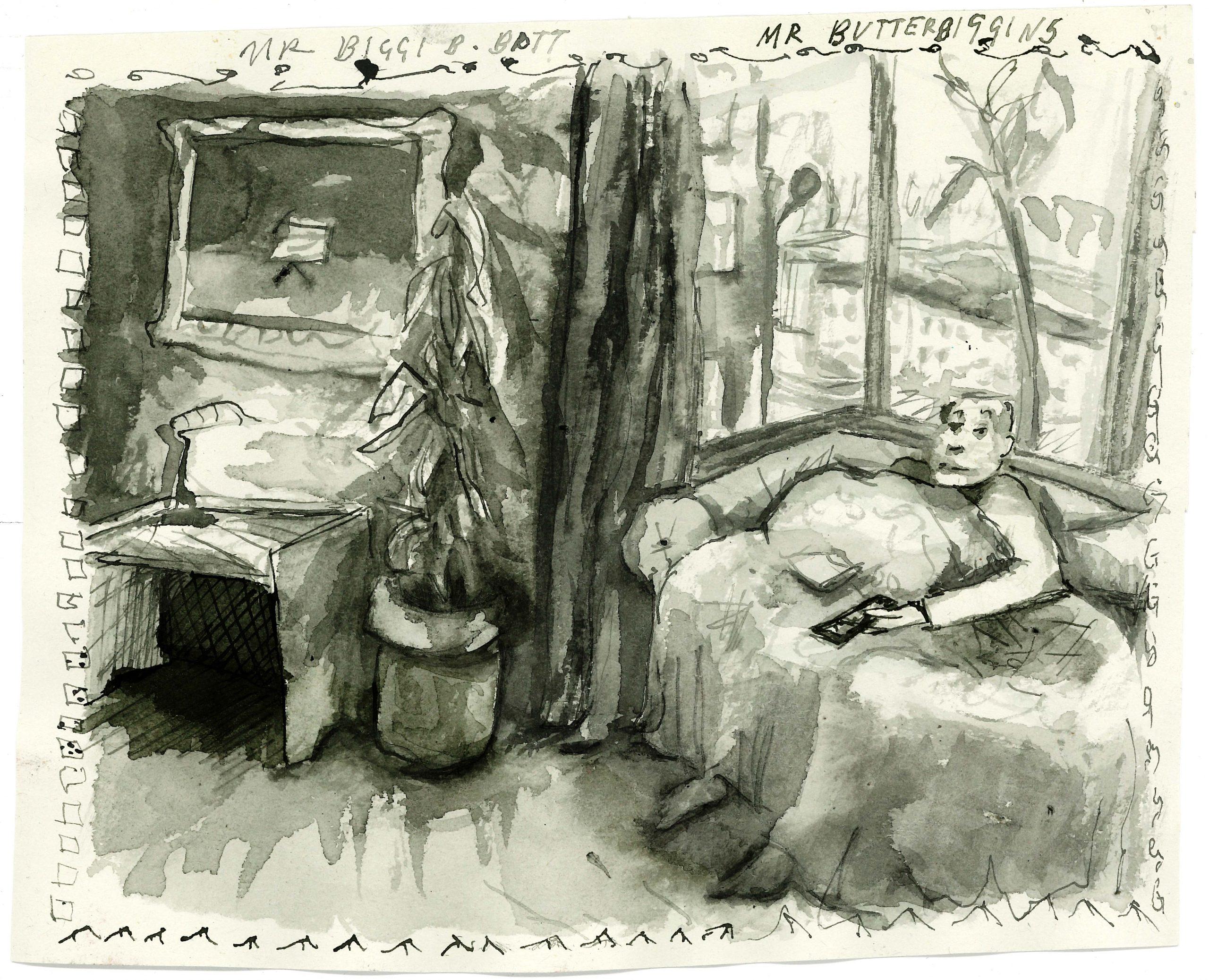 Tess Glenn's Portrait of Mr Butterbiggens